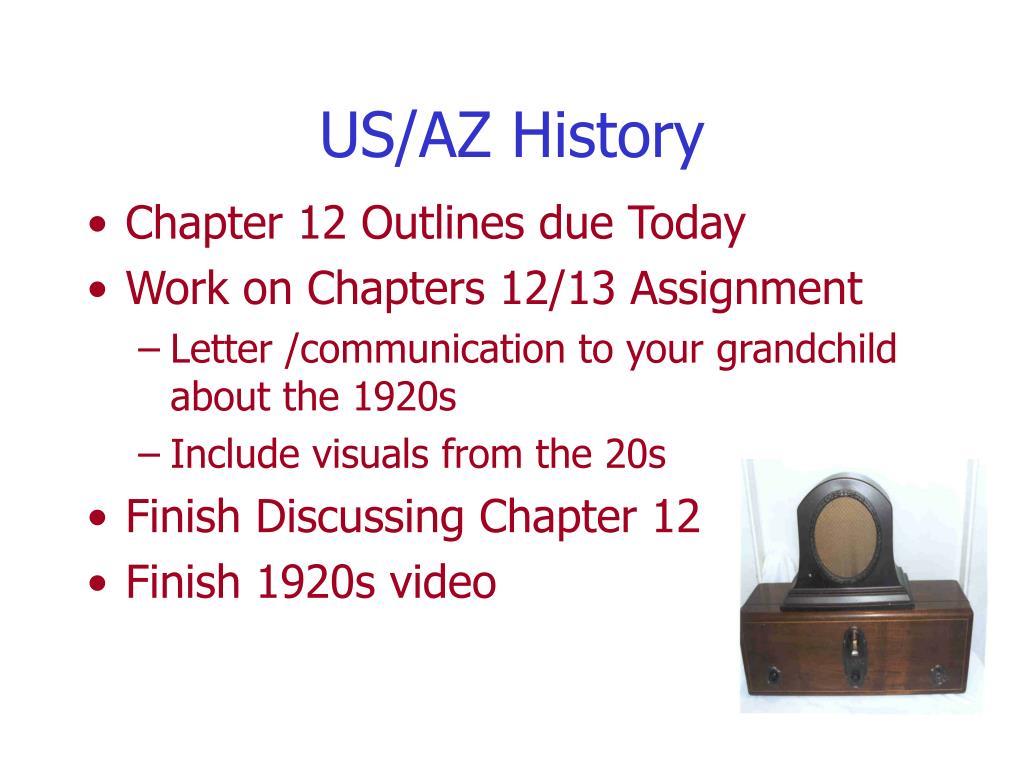US/AZ History