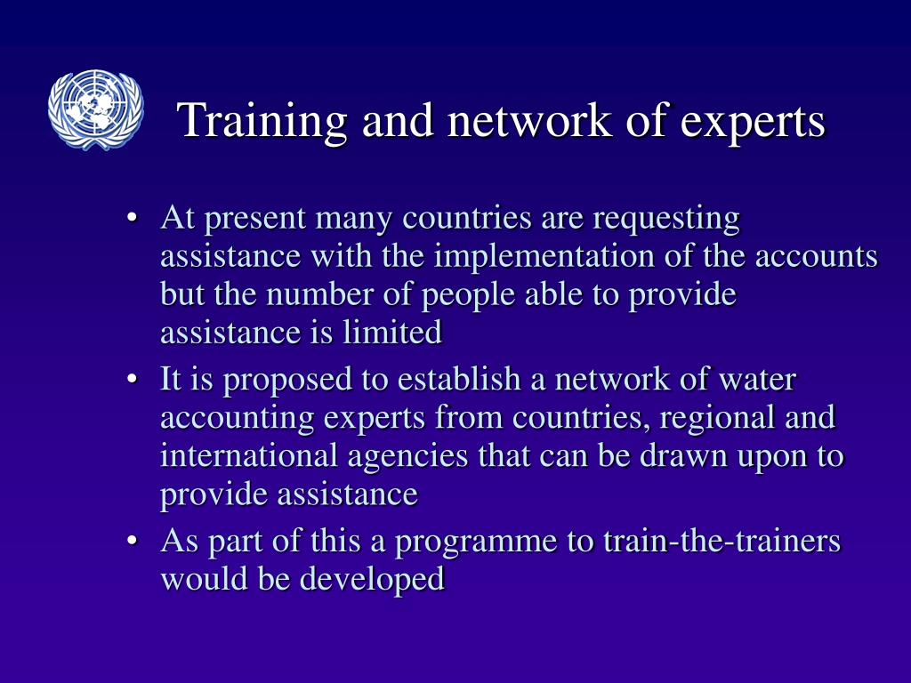 Training and network of experts