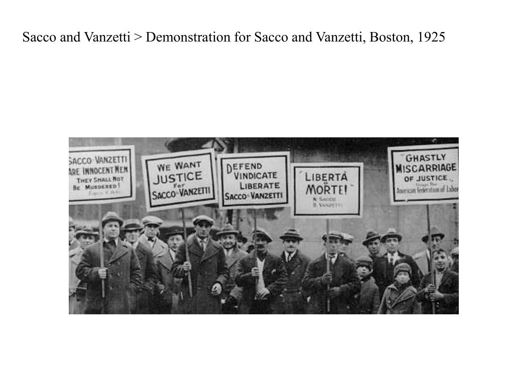 Sacco and Vanzetti > Demonstration for Sacco and Vanzetti, Boston, 1925