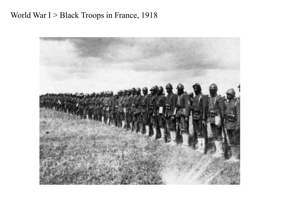 World War I > Black Troops in France, 1918