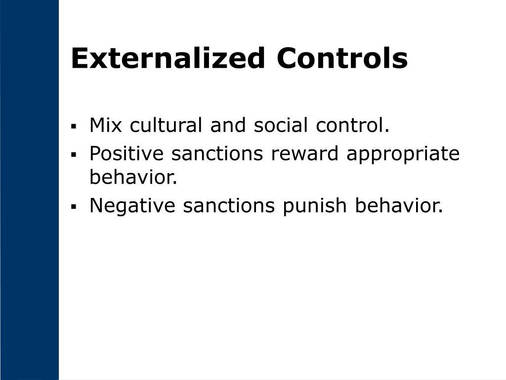 Externalized Controls