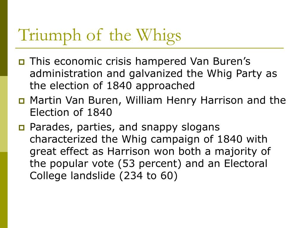 Triumph of the Whigs