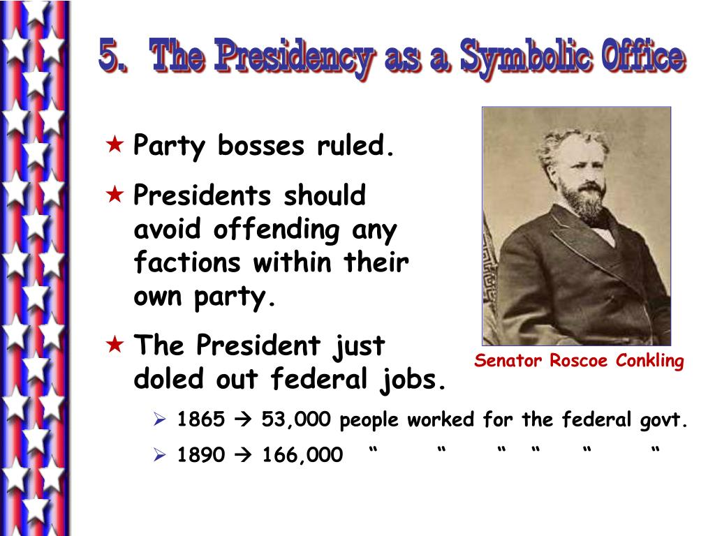 5.  The Presidency as a Symbolic Office