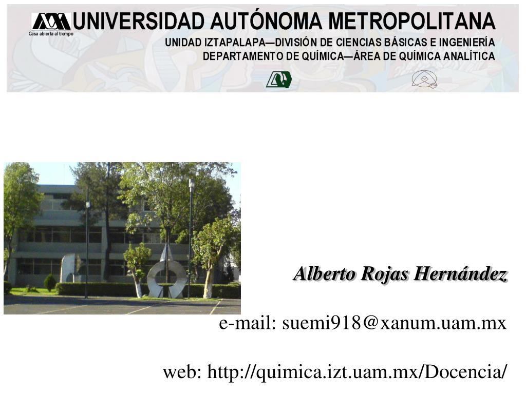 Alberto Rojas Hernández