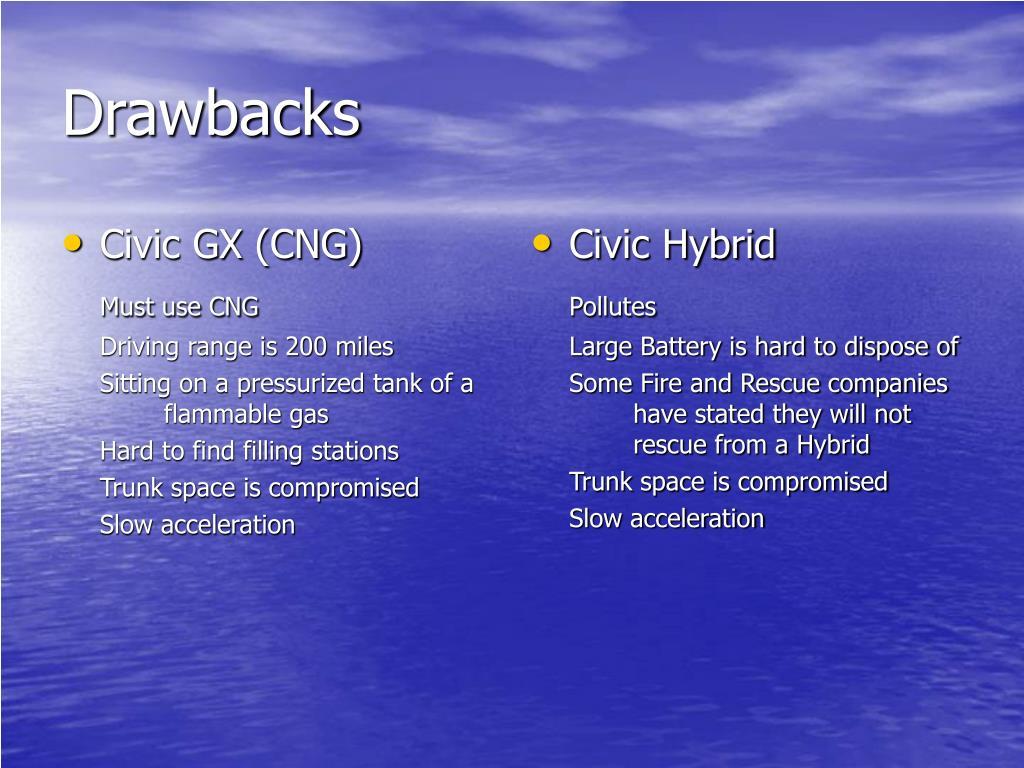 Civic GX (CNG)