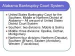 alabama bankruptcy court system
