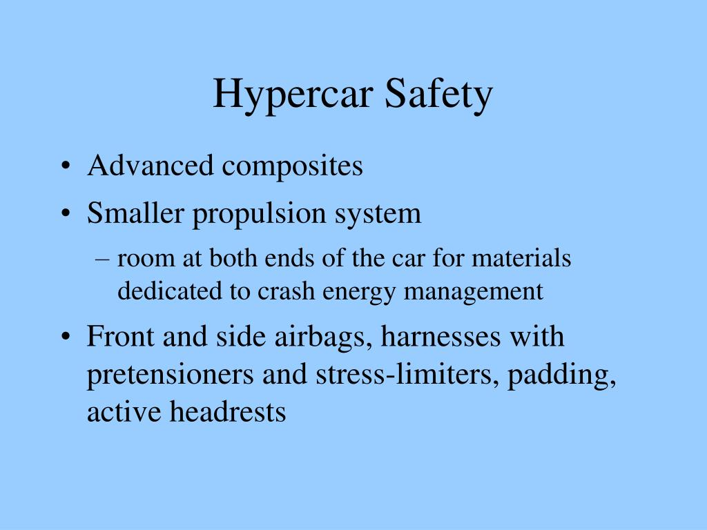 Hypercar Safety