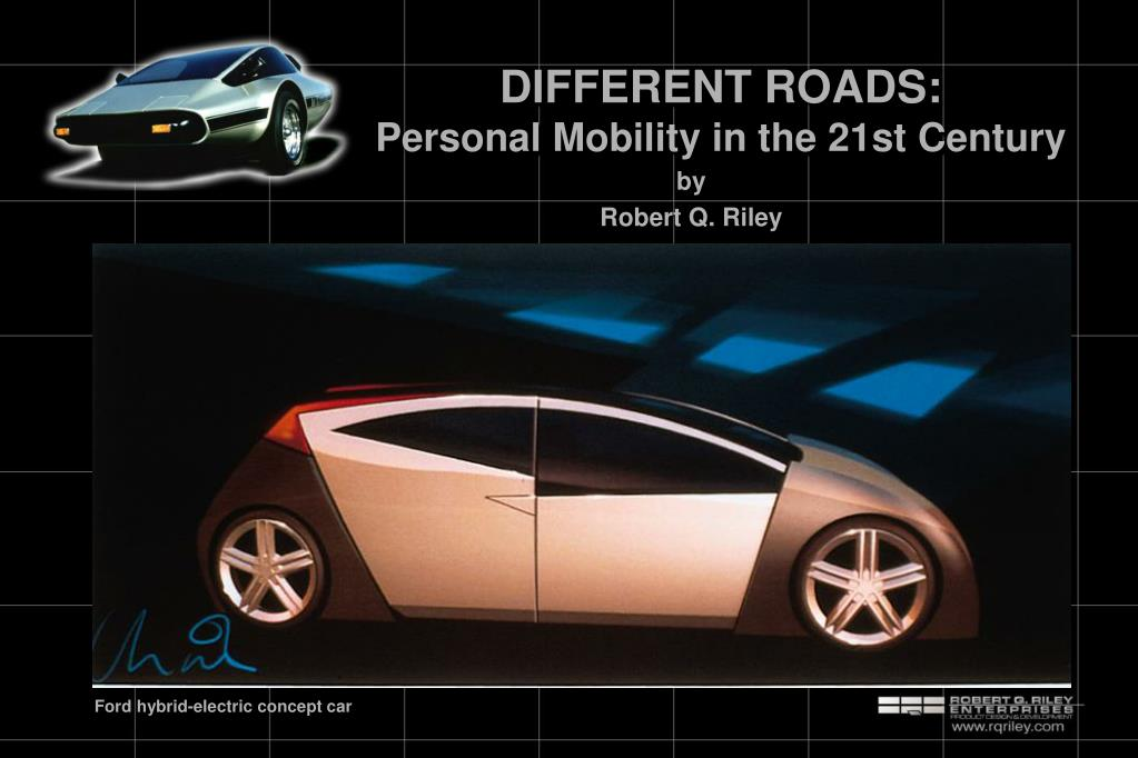 different roads personal mobility in the 21st century
