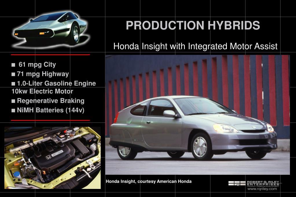 PRODUCTION HYBRIDS