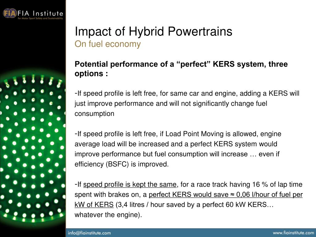 Impact of Hybrid Powertrains