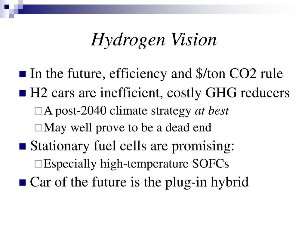 Hydrogen Vision