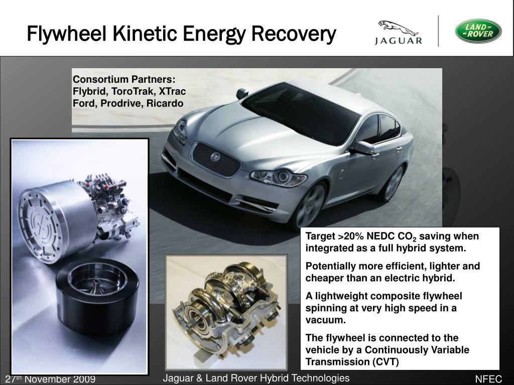 Flywheel Kinetic Energy Recovery