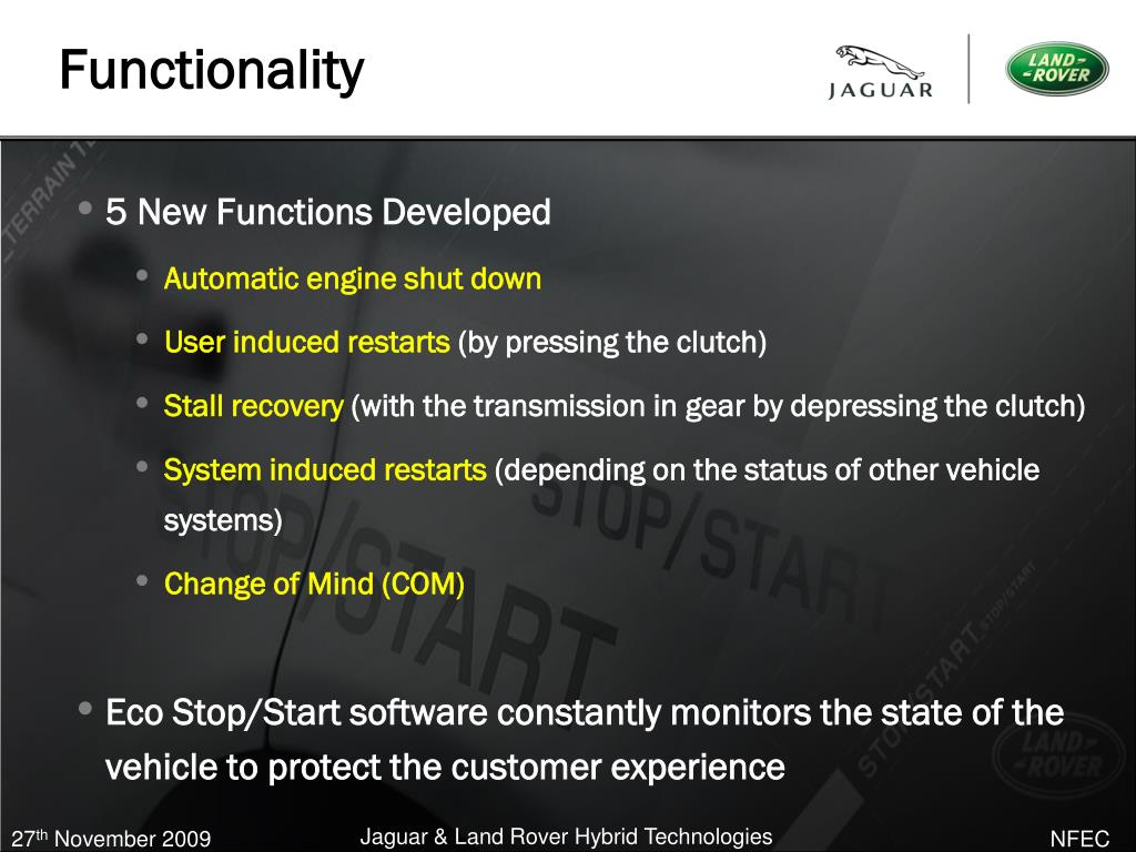 5 New Functions Developed