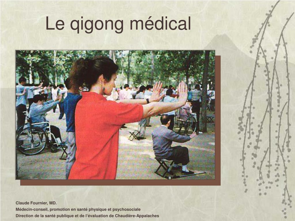Le qigong médical
