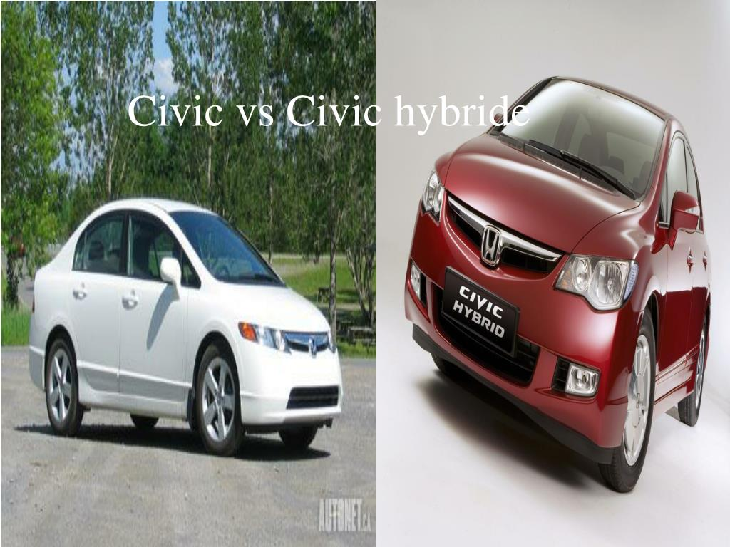 Civic vs Civic hybride