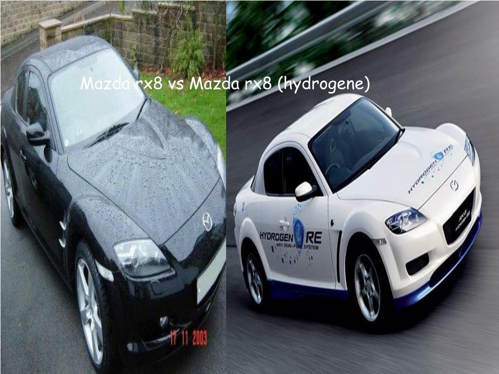 Mazda rx8 vs Mazda rx8 (hydrogene)