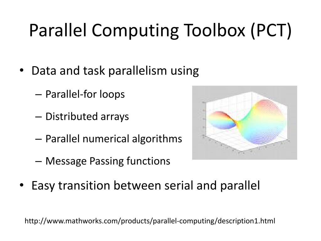 Parallel Computing Toolbox (PCT)
