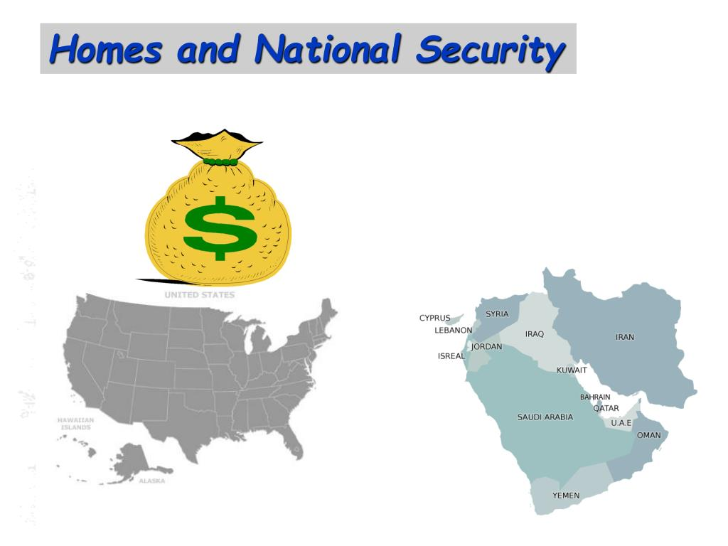 Homes and National Security