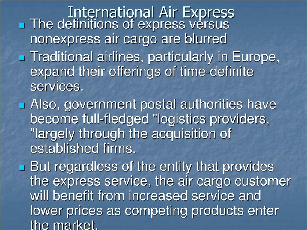 International Air Express