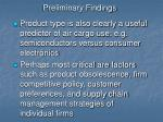 preliminary findings34