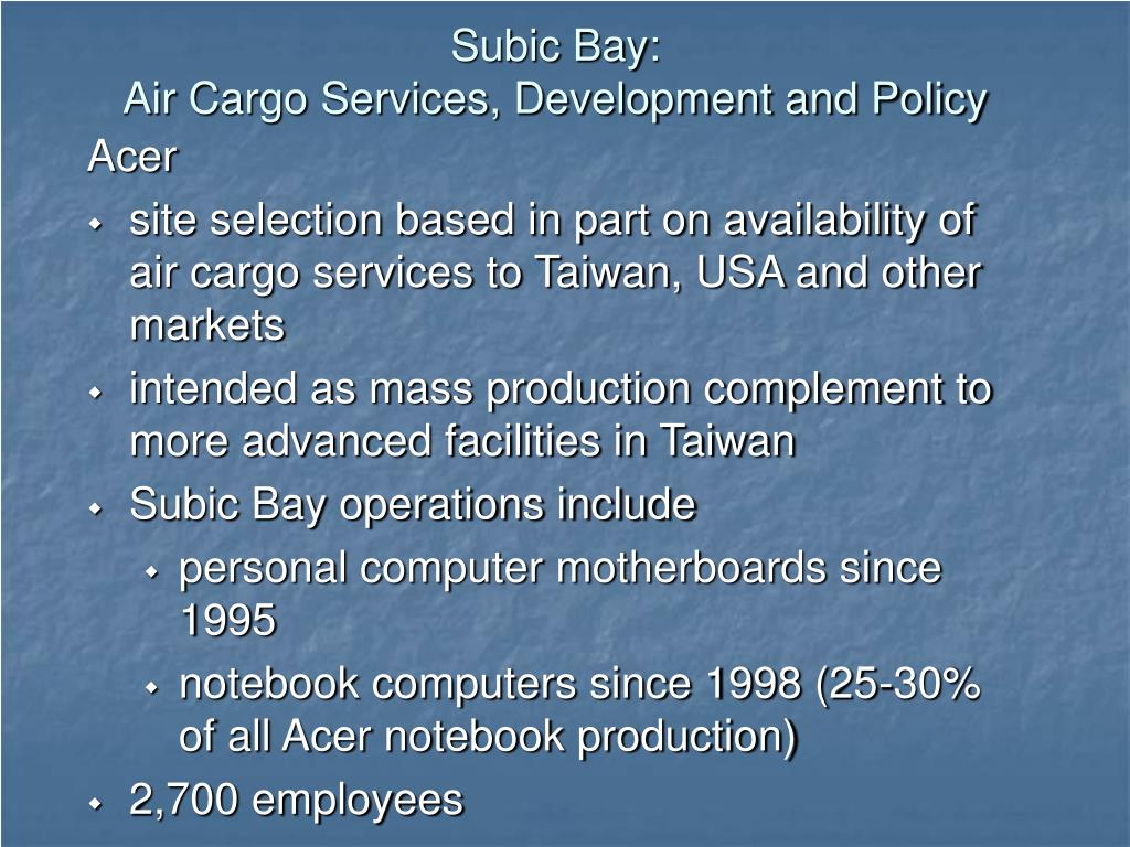 Subic Bay: