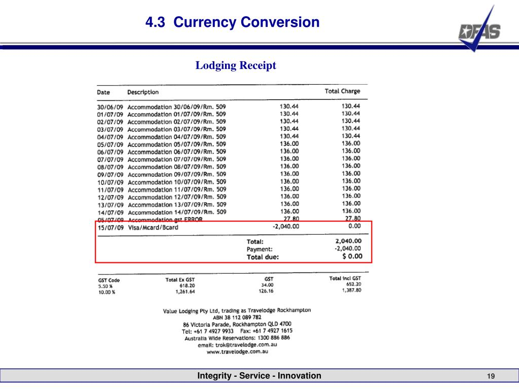 4.3  Currency Conversion
