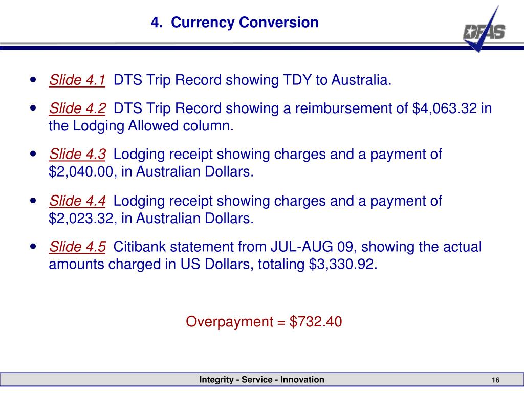 4.  Currency Conversion
