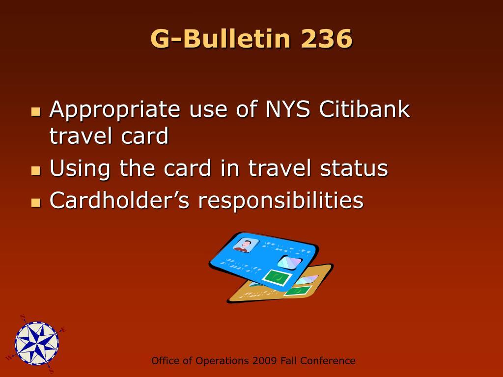 G-Bulletin 236