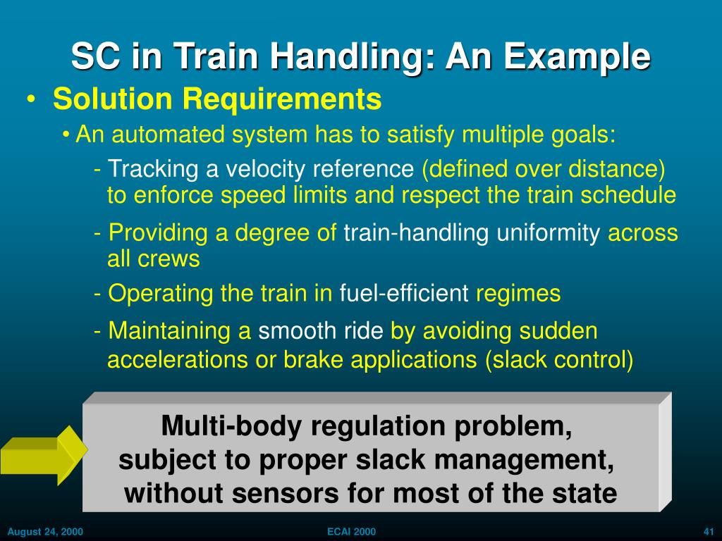 Multi-body regulation problem,