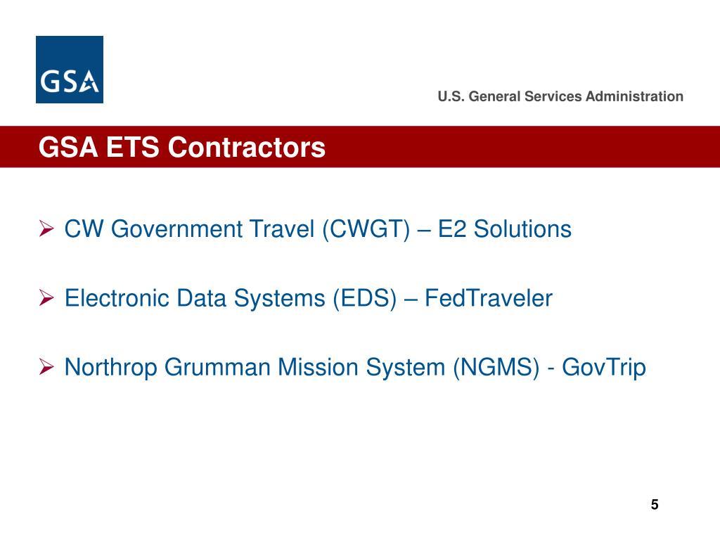 GSA ETS Contractors