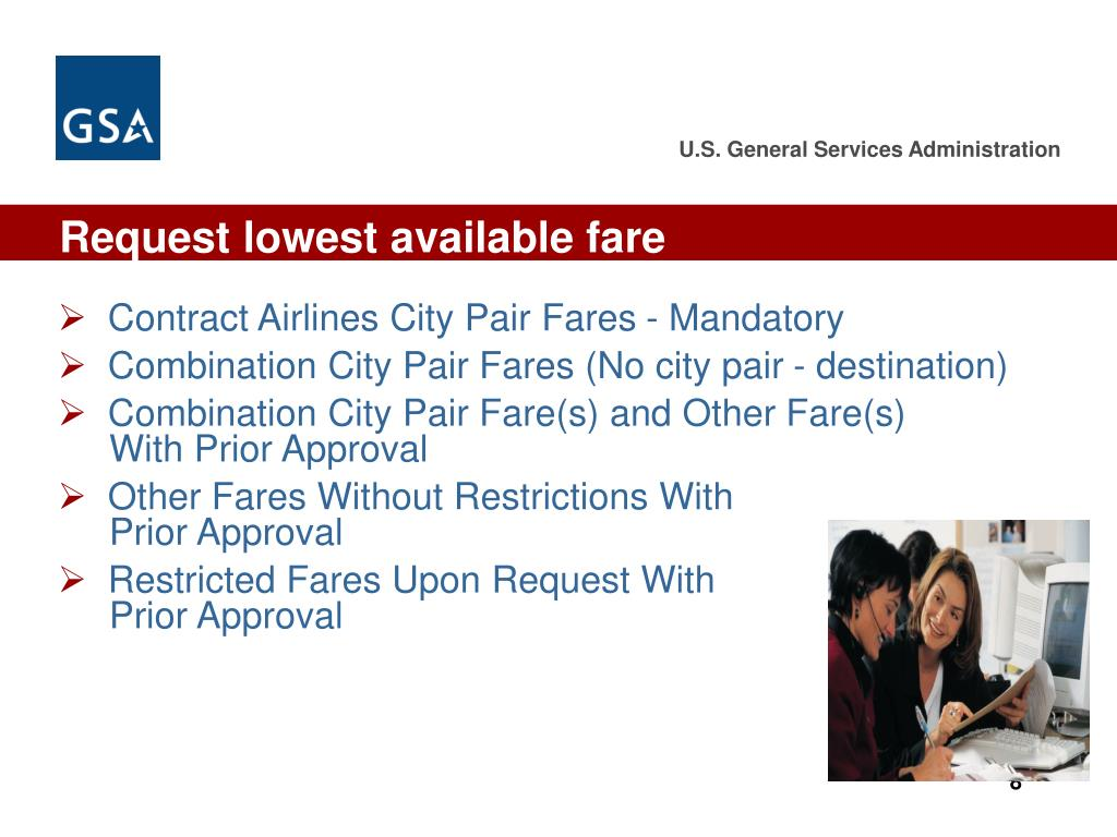 Request lowest available fare