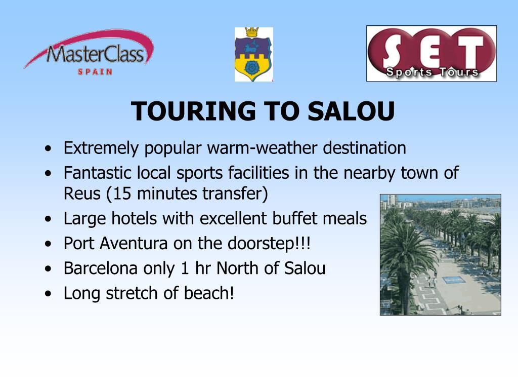 TOURING TO SALOU