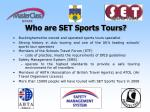 who are set sports tours