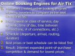 online booking engines for air tix