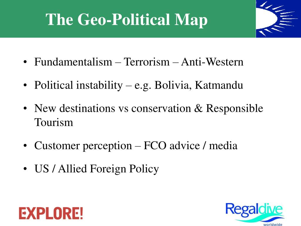 The Geo-Political Map
