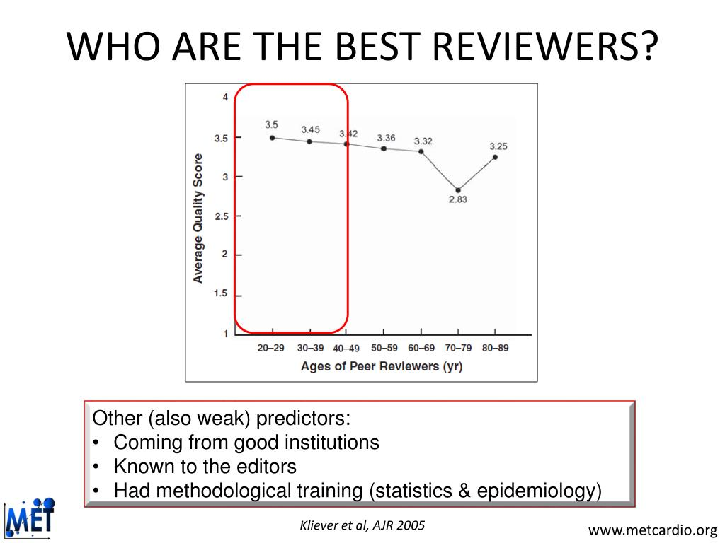 WHO ARE THE BEST REVIEWERS?