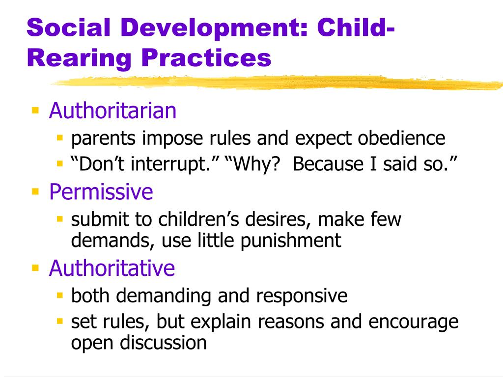 Parental Influence on the Emotional Development of Children