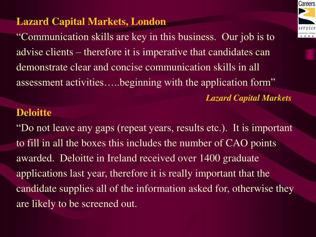Lazard Capital Markets, London