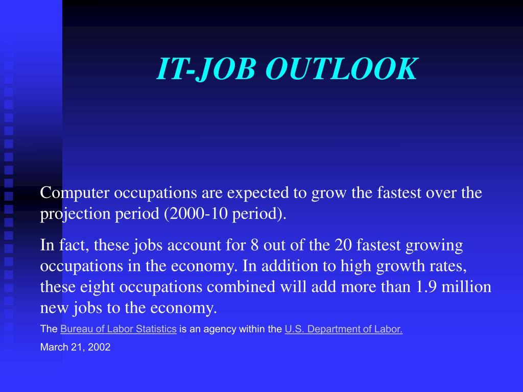 IT-JOB OUTLOOK