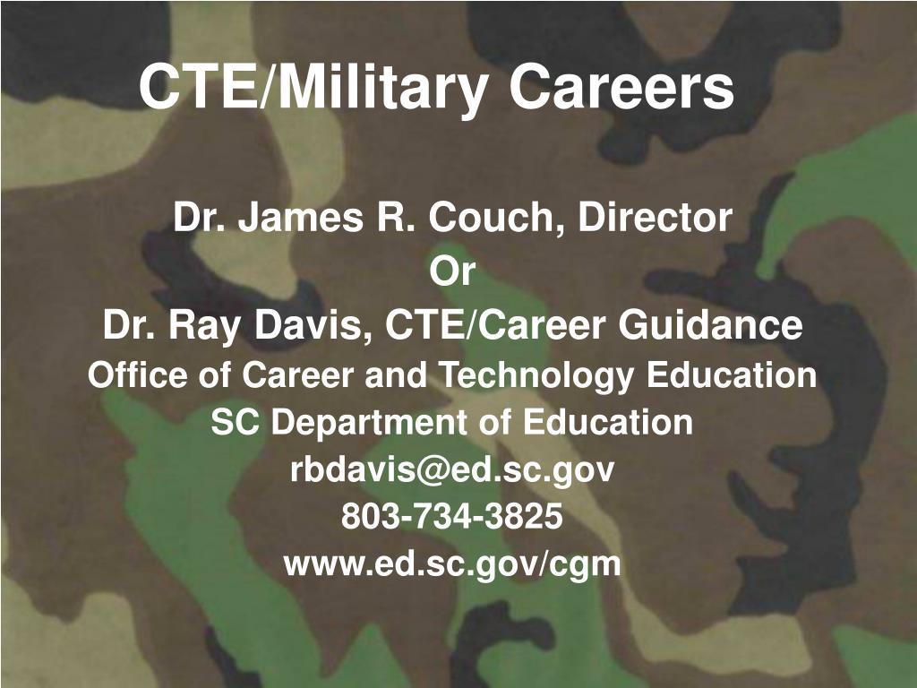 CTE/Military Careers