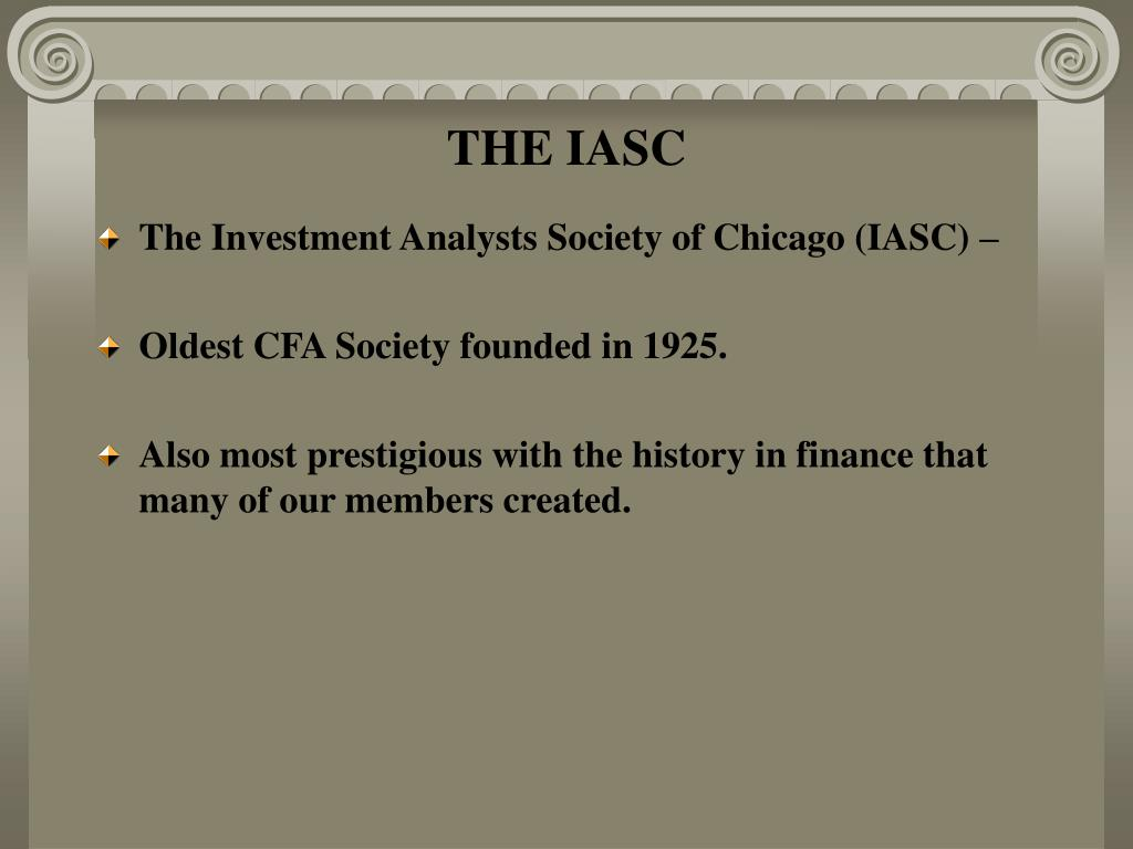 THE IASC