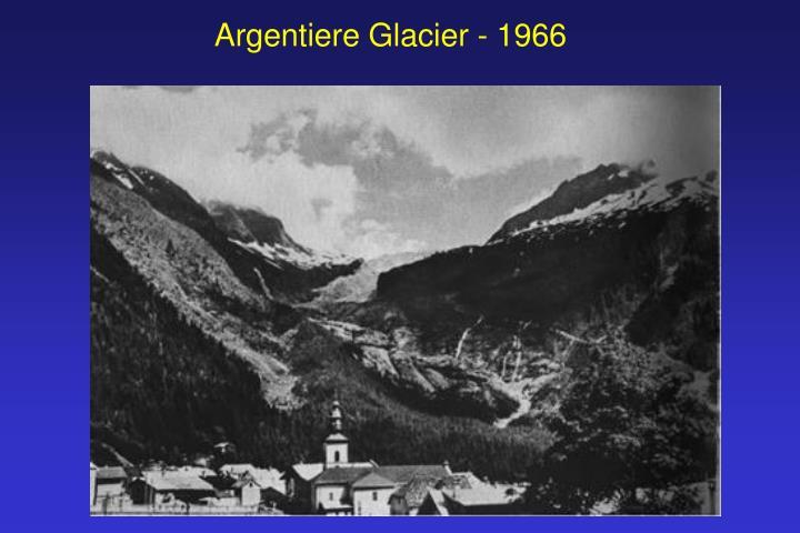 Argentiere Glacier - 1966