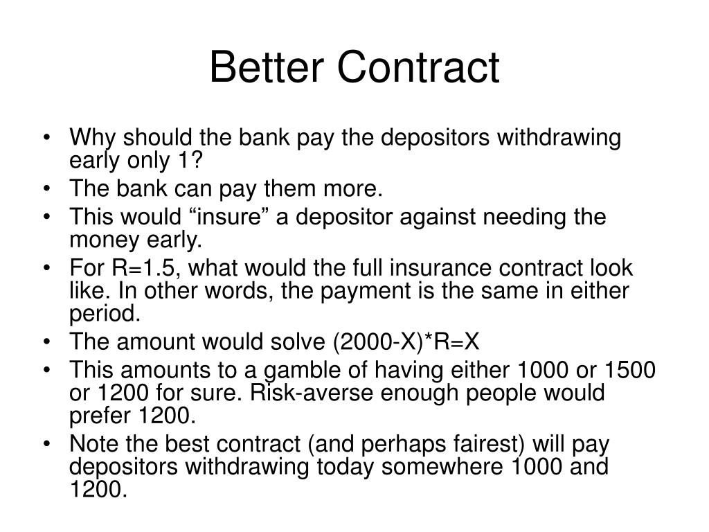 Better Contract