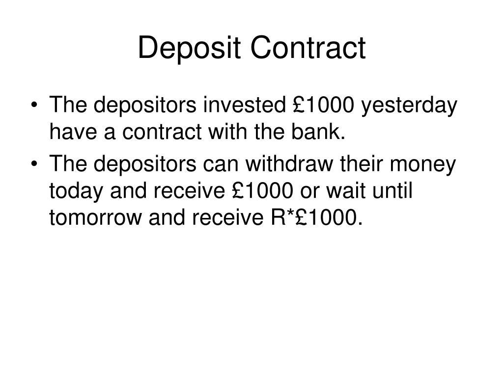 Deposit Contract