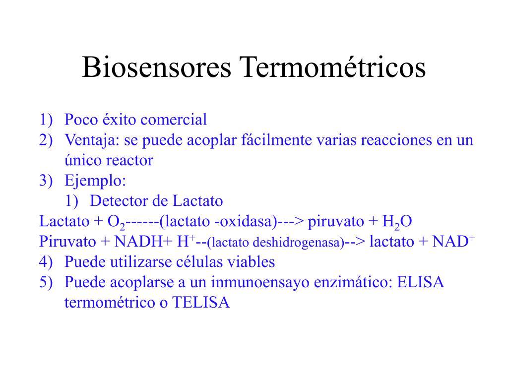 Biosensores Termométricos