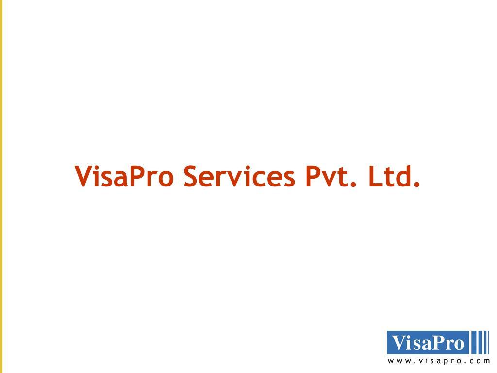 VisaPro Services Pvt. Ltd.