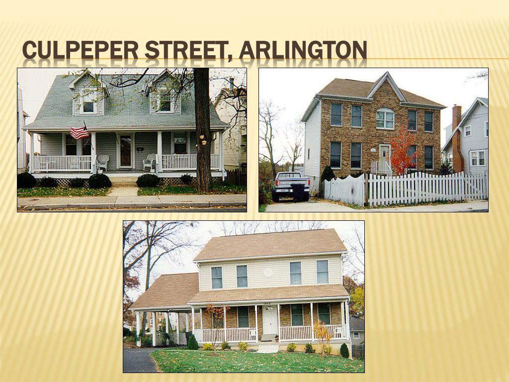 Culpeper Street, Arlington