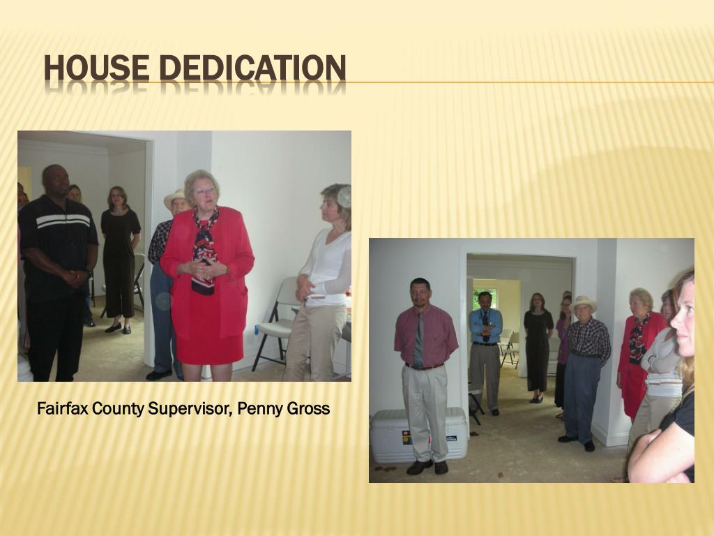 House Dedication