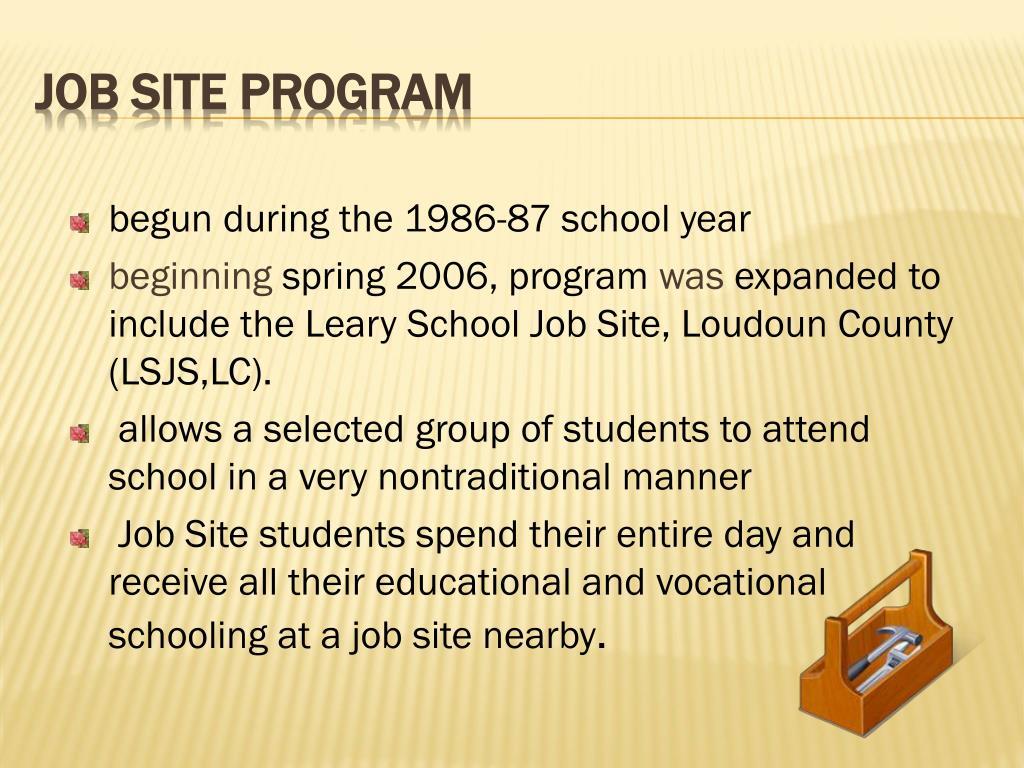 begun during the 1986-87 school year