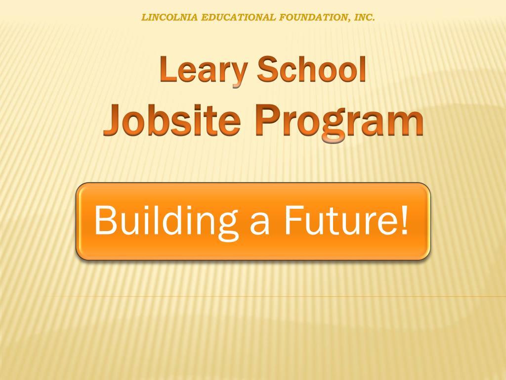 LINCOLNIA EDUCATIONAL FOUNDATION, INC.